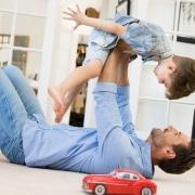 Een gelukkige vader is een goede vader